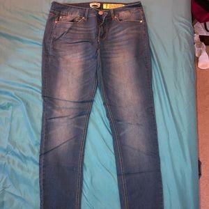 size 11 (juniors) indigo rein skinny jeans